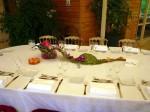 Exemple de Table de Mariage Décorée 0001